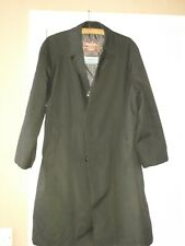 Mens vintage Waterproof Trench Coat  Size M