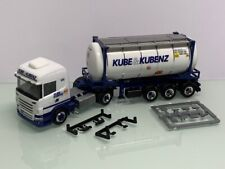 Herpa 302432 Kube & Kubenz Scania R13 420 20ft. Swap Container SZ 7470