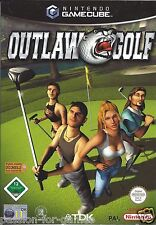 OUTLAW GOLF for Nintendo Gamecube - with box & manual