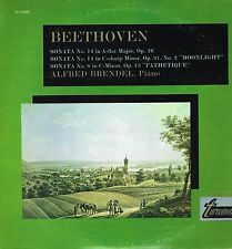 "LP 12"" 30cms: Beethoven: sonata 12.14.8. Alfred Brendel. turnabout . D6"