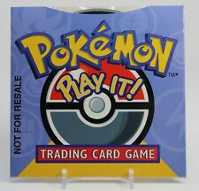POKEMON PLAY IT! CD-ROM LEARN TO PLAY DISC WIN 95/98 WOTC