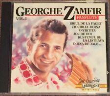 Georghe Zamfir Panflute Vol. 1 Easy Listening Panflute CD Music
