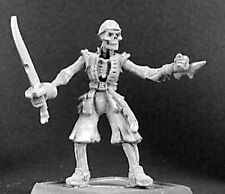 1x GRIM PETE RAZIG - WARLORD REAPER figurine miniature rpg skeleton pirate 14273
