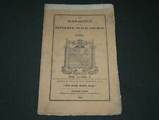 1826 THE MAGAZINE OF THE REFORMED DUTCH CHURCH VOL. 1 NO. 1 - RUTGERS - II 3046