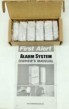First Alert Alarm 4 Window/Door Premium Level Home Security Alarm Sensors