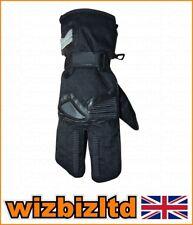 Invierno ROAD 2 dedos mitones Textil / Cuero - Negro XS glvrd11xs