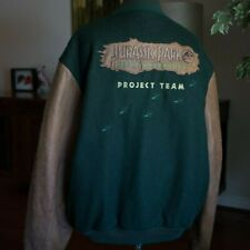 Vintage Jurassic Park River Adventure Crew (Florida) Letterman Jacket 1996