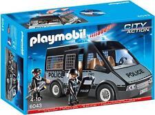 Playmobil® 6043 Polizei-Mannschaftswagen mit Licht und Sound NEU/OVP