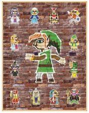 Club Nintendo The Legend of Zelda A Link Between Worlds Painting Poster