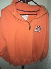 PressBox NCAA Auburn Tigers Zip-Up Sweater Size XL