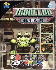 Ironclad Neo Geo Mini Arcade Marquee