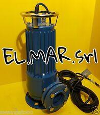 Pompa Sommersa HP 3 a GIRANTE APERTA Acque Cariche Elettropompa Trifase 2,2 KW