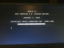 Apple IIe Emulator - Raspberry Pi LinApple Emulator