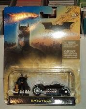 Hot Wheels Batcycle & Figure Batman Begins DC Comics