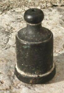 ancien fil a plomb en bronze