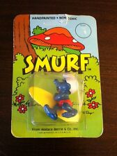 PEYO 1982 MOC Surfer Smurf From Wallace Berrie & Co Inc. Schleich