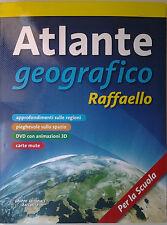Atlante Geografico per la Scuola Elementare e Media Editore Raffaello OCCASIONE