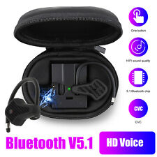 Bluetooth 5.1 Earbuds Tws Wireless Earphone Sport Headset Mic Headphone Ear Hook