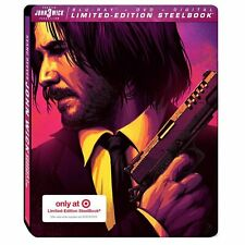 John Wick Chapter 3 Target Exclusive 2019 Blu-ray/DVD /Digital  Steelbook