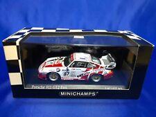 Minichamps 1/43 Porsche 911 GT2 Evo Le Mans 24h 1999 Limited White/Red Japan