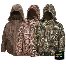 DRAKE WATERFOWL YOUNG GUNS MST YOUTH STRATA SYSTEMS FULL ZIP CAMO COAT JACKET