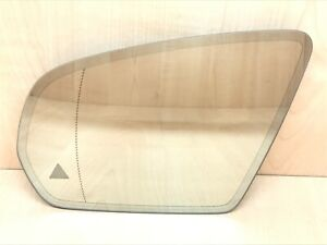 Mercedes E S C w205 w212 s222 Mirror Glass AUTO DIMMING Heating Blind spot Left