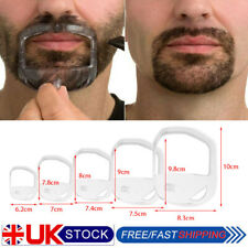 5PCS/Set Styling Shaving Shaper Tool Mould Beard Comb Goatee Template For Men UK