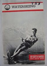 *Discontinued* 1992 Waterskiing Merit Badge Pamphlet BSA Boy Scouts America