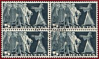 Schweiz 1955 Symbolische Darstellungen 5 Fr, VB m.Zentrumstempel Mi 329x, Z 217x