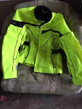 Olympia  Hi-visible Motorcycle Jacket  size M CORDURA 3M scotchlite Material