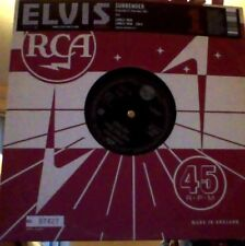 "Elvis Presley surrender vinyl 10"" reissue numbered."