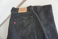 Levis Levi's 517 02 Herren Men Jeans Hose 34/32 W34 L32 schwarz black TOP C22