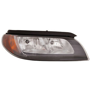 Aftermarket Replacement Driver Side Headlight Assembly Halogen 114-50388