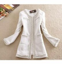 Unbranded Classic Neckline Coats & Jackets Spring for Women
