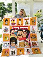 Bob's Burgers Quilt Blanket