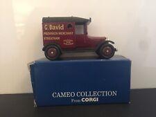 Corgi Cameo Collection: G. David Model T Ford, Provision Merchant Streatham; Box