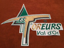 QMJHL Foreurs de Val D'or Pro Hockey Jersey Crest Patch 14.5 by 15 inches