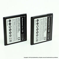 2 x 1800mAh Battery for Huawei Ascend Y300 Y300C Y500 Y511 HB5V1
