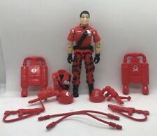 Black Major CUSTOM Inferno Jetpack Figure With Accessories Cobra And Red Shadow