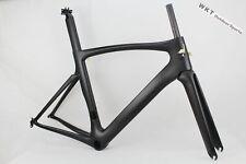 49CM Full Carbon Fiber Road Bike Frame Set 700C Bicycle Frameset Fork+Seatpost