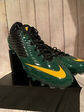 Nike Vapor Speed Low Td Football Black Green Cleats 668831-012 Size 13