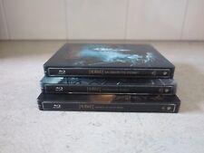 The Hobbit. 3 movies, Blu-ray steel case.