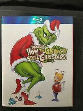 How the Grinch Stole Christmas (Blu-ray Disc, 2-Disc Set) w/ SLIP COVER!!