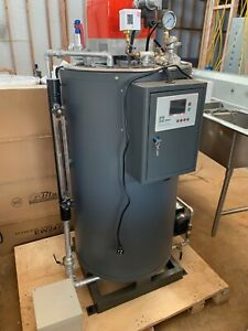 New 6hp low-pressure steam boiler. LP gas