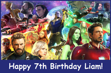 18 Personalized Avengers infinity wars party stickers,birthday favors,bag labels