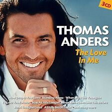 THOMAS ANDERS - THE LOVE IN ME 3 CD NEUF