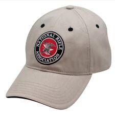 NRA National Rifle Association *TAN KHAKI* TWILL HAT CAP NEW NR07