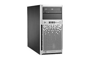 HP ML310e  - E3-1245v2 16GB B120i 3 x 500 GB 2 x PSU