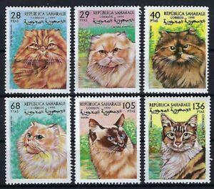 Sahara Occ - 1999 6v. Domestic Cats Pets Animals