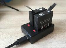 SJCAM SJ7 Star 100% Original Dual Charger + 2pcs SJCAM Batteries 1000mAh Battery